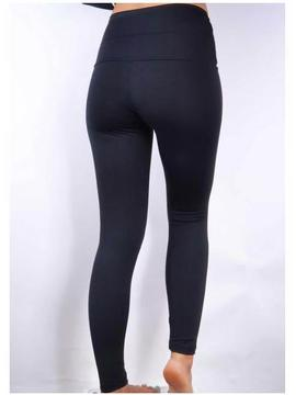 Legging Compresion Sontress Negra Mujer