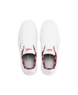 Zapatilla Puma Vikky Stacked Neon Lights Blanco