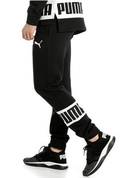Pantalon Puma Rebel Sweat Negro Hombre