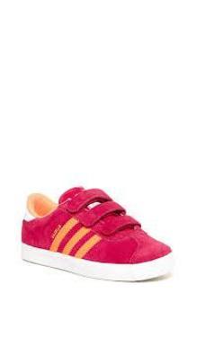 adidas gazelle niña rosa velcro