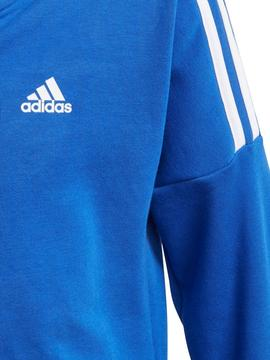 Chandal Adidas JB COTTON Azulon Niño
