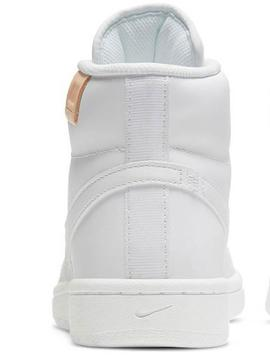 Botin Nike Court Royal Mid Blanco